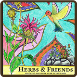 Herbs & Friends Coloring Book